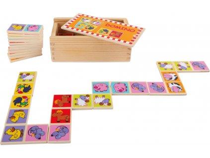 4220 Domino Zootiere