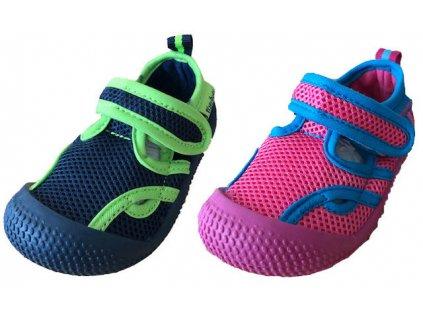 Aqua sandále s UV ochranou modrá