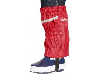 Nepremokavé návleky na topánky - štucne červené