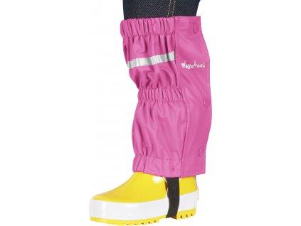 Nepremokavé návleky na topánky - štucne ružové