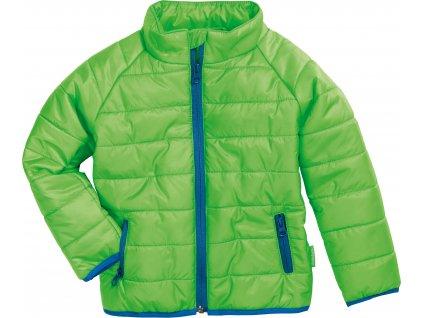 Prešívaná bunda UNI zelená