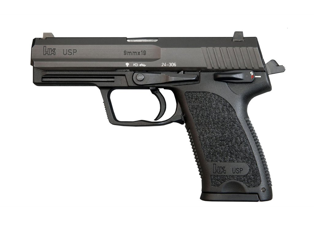 First year H&K USP 9mm (32415150000) modified