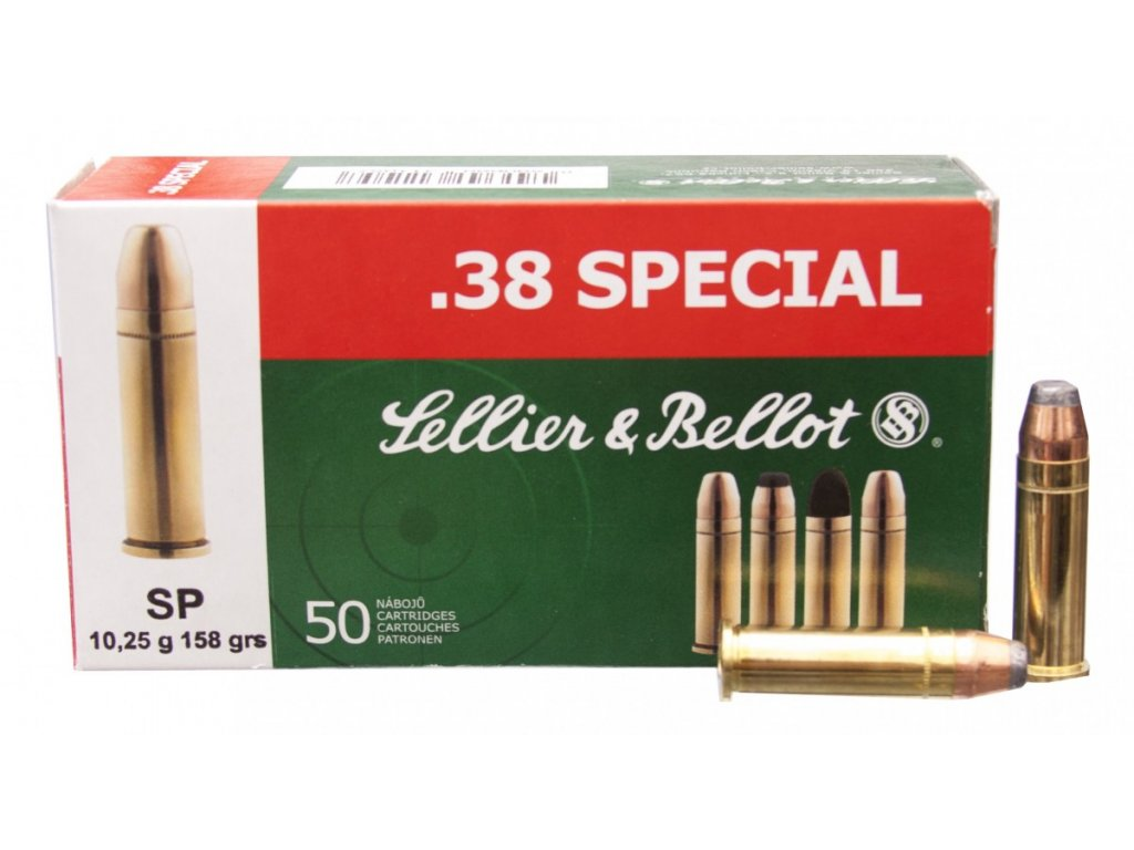 .38 SPECIAL - SP 158 grs (1ks)