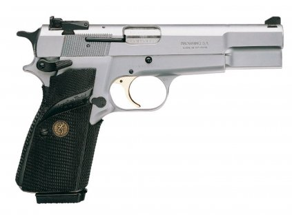 browning hp silver