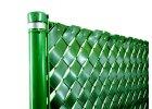 Plastová výplň pre zvárané a štvorhranné pletivá