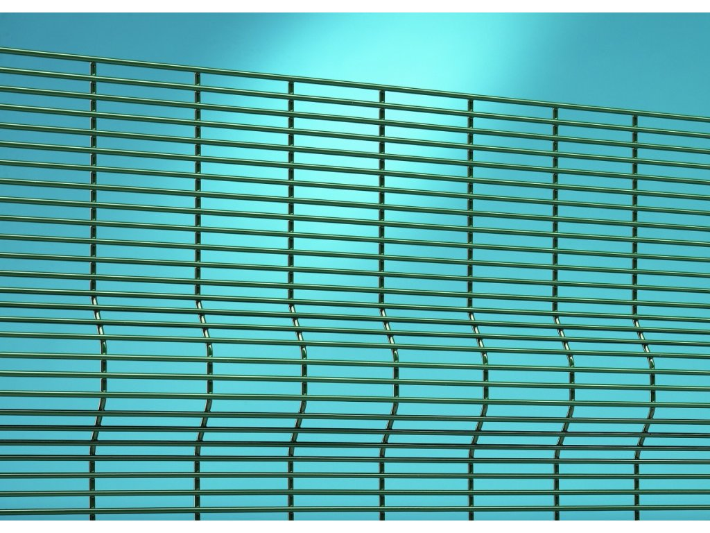PANEL SECURIFOR® 3D - ZELENÝ, 2417 x 2519 / 12.7 x 76.2 / 4.0 mm