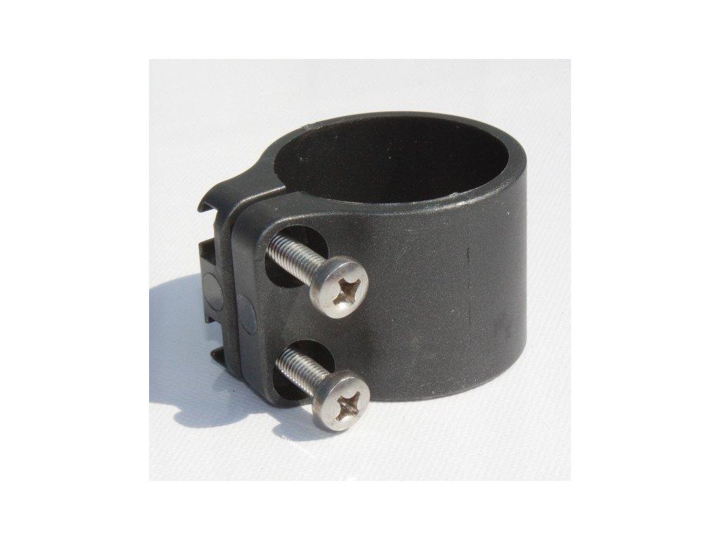 OBJÍMKA NA STĹPIK BEKACLIP® 48 mm - ANTRACITOVÁ (25 ks / bal.)