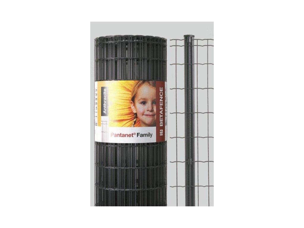 ZVÁRANÉ PLETIVO PANTANET® FAMILY - ANTRACITOVÉ, 0.81 x 25 m / 100 x 50 / 2.5 mm