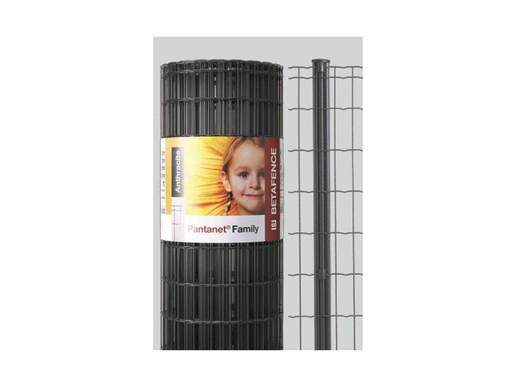 ZVÁRANÉ PLETIVO PANTANET® FAMILY - ANTRACITOVÉ, 1.83 x 25 m / 100 x 50 / 2.5 mm