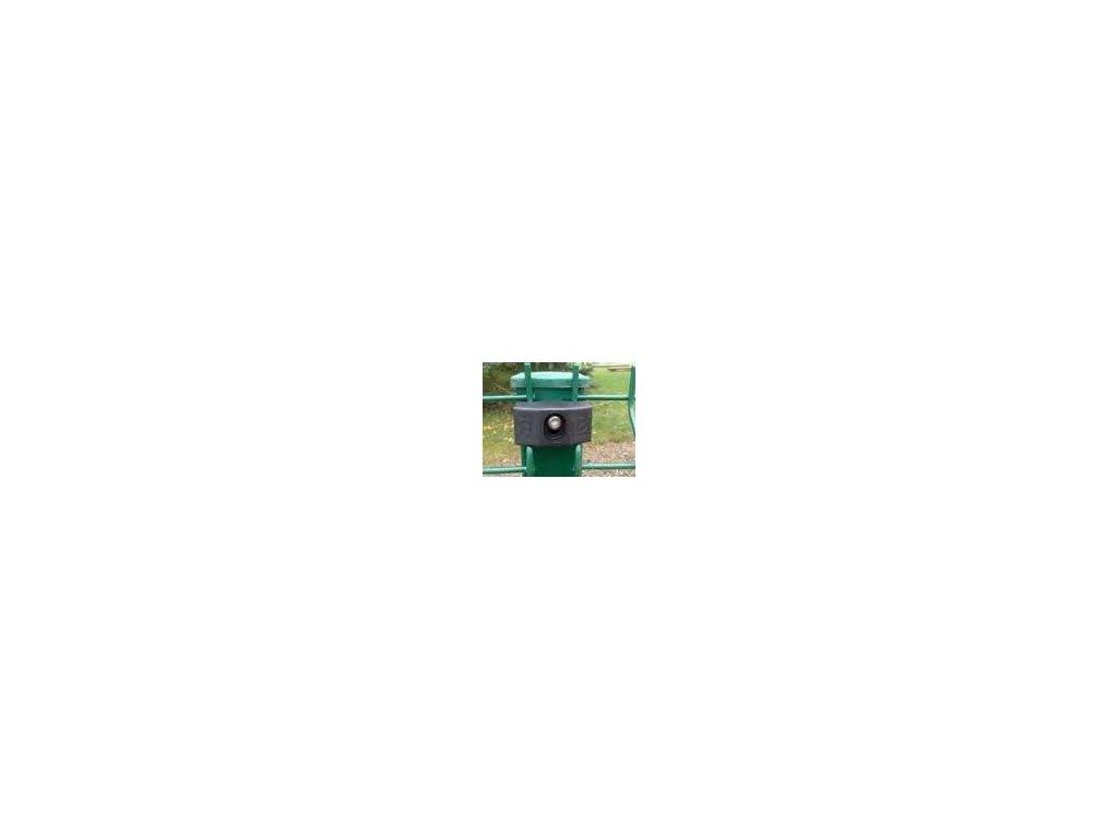 ÚCHYTY PRE PANELY NYLOFOR® 2D SUPER - POLYAMID - ČIERNE (50 ks / bal.)