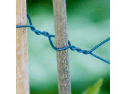 Drôt poplastovaný 1mmx50m zelený