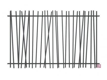 PANEL CREAZEN® - ANTRACITOVÝ, 1000 x 2400 mm