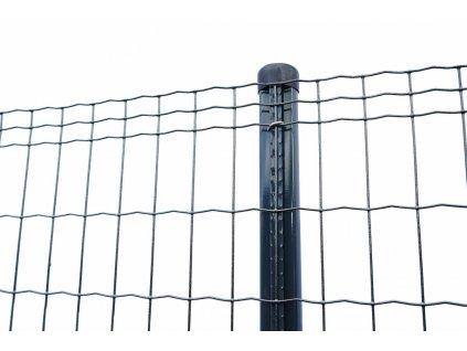 ZVÁRANÉ PLETIVO LUXOR 2 - ANTRACITOVÉ, 1.20 x 25 m / 101.6 x 50.8 / 2.5 mm