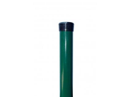 OKRÚHLY STĹPIK - ZELENÝ, 2500 / 48 mm