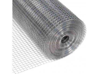 ZVÁRANÁ SIEŤ POZINKOVANÁ, 1.0 x 25 m / 13 x 13 / 0.8 mm
