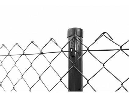 PLETIVO KLASIK PVC - ANTRACITOVÉ, 1.80 x 25 m / 50 x 50 / 2.5 mm