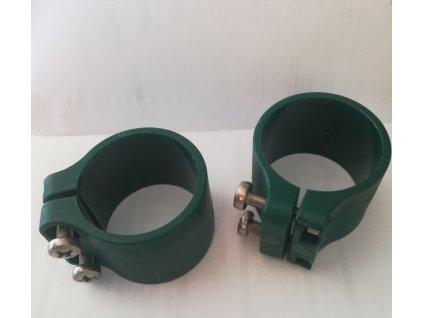 OBJÍMKA NA STĹPIK BEKACLIP® 48 mm - ZELENÁ (6 ks / bal.)