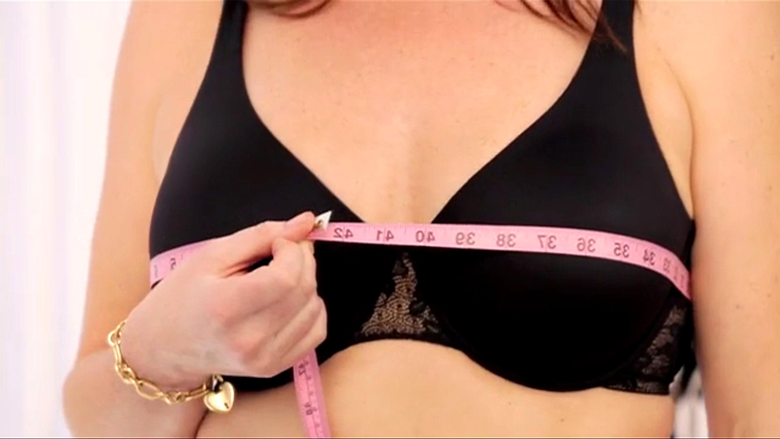 Správné měření velikosti podprsenky