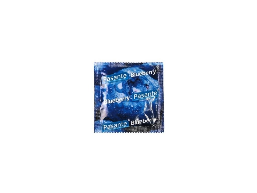 pasante kondomy boruvka 1 ks img pasante blueberry kondom 1ks fd 3