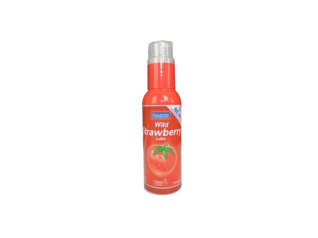 pasante lubrikacni gel 75 ml jahoda img pasante wild strawberry 75ml fd 3