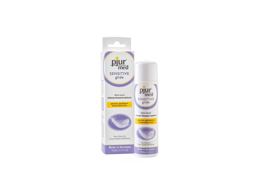 pjur med sensitive glide lubrikacni gel 100 ml img 6141650000 fd 3