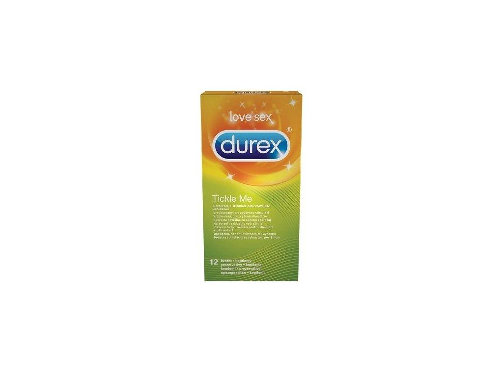 durex kondomy tickle me 12 ks img durex TickleMe 12ks fd 3