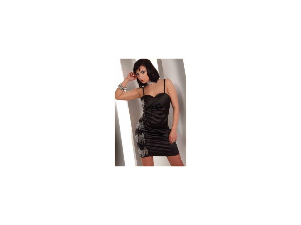 # Luxusní košilka Hathor-LivCo CORSETTI (Barva Černá, Velikost S)