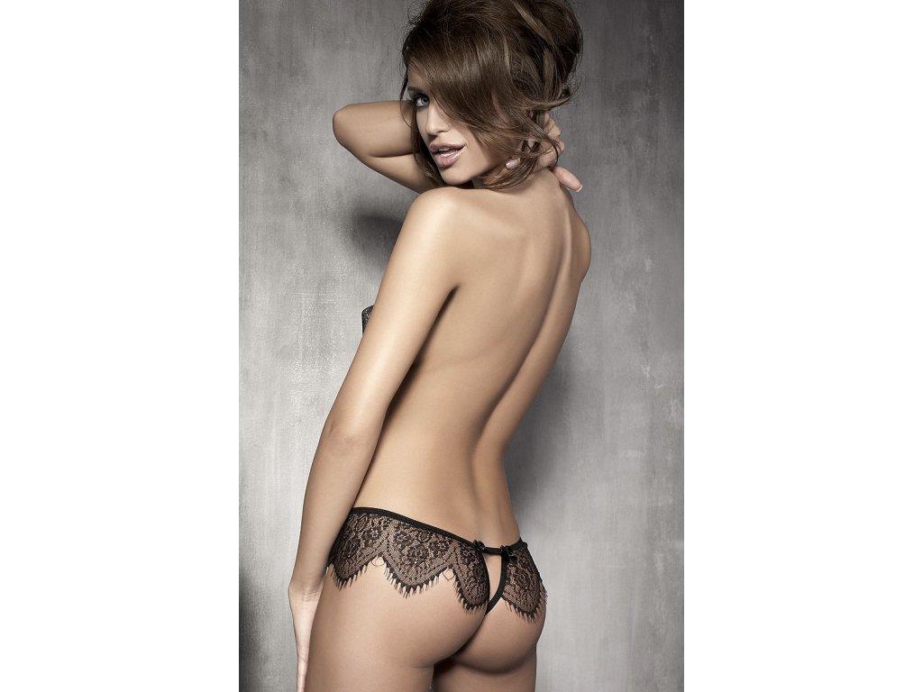 # Kalhotky Anais Abbigail panty (Barva Černá, Velikost XL)