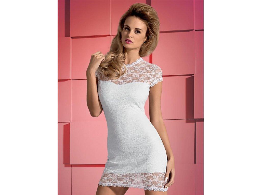 # Košilka Dressita - Obsessive (Barva Bílá, Velikost L/XL)