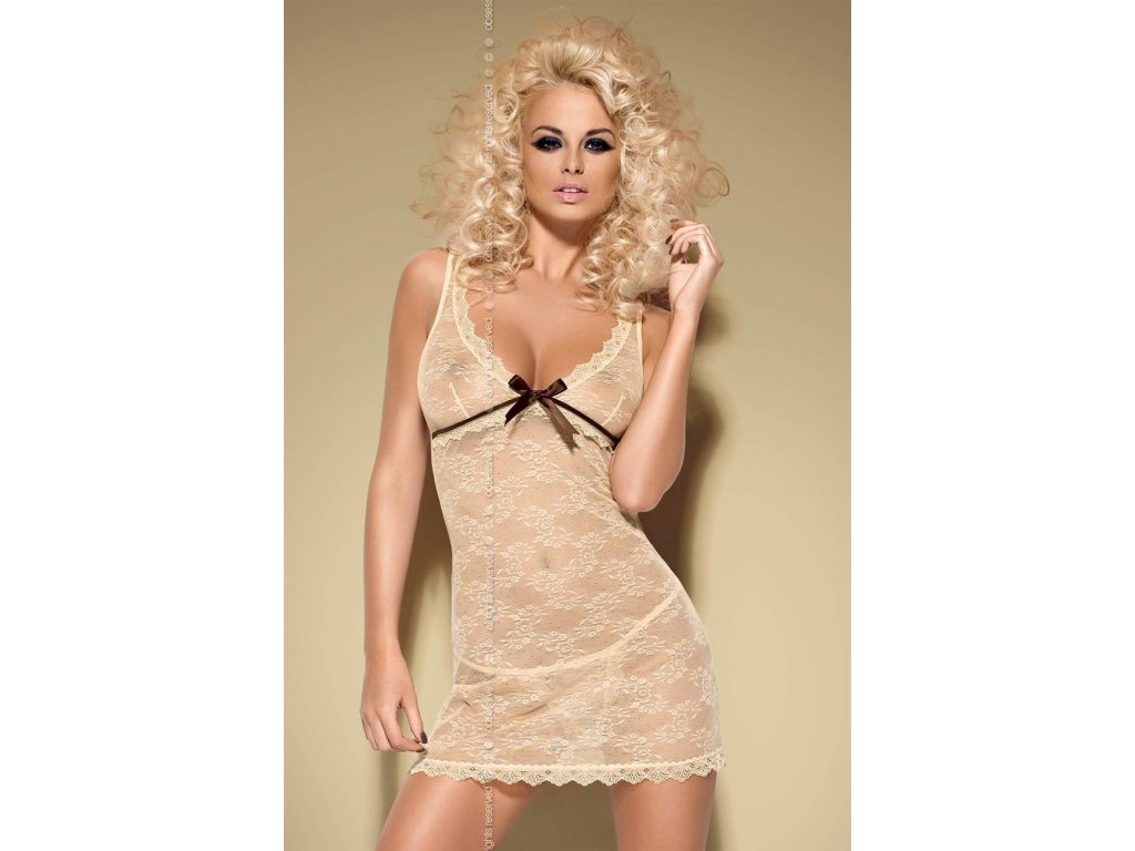 40549 kosilka caramella chemise xxl obsessive
