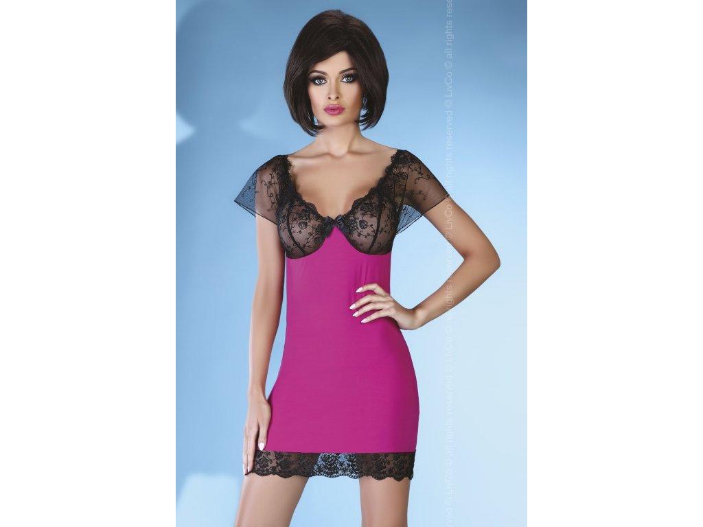 # Košilka Adonisa - LivCo Corsetti (Barva růžová, Velikost L/XL)