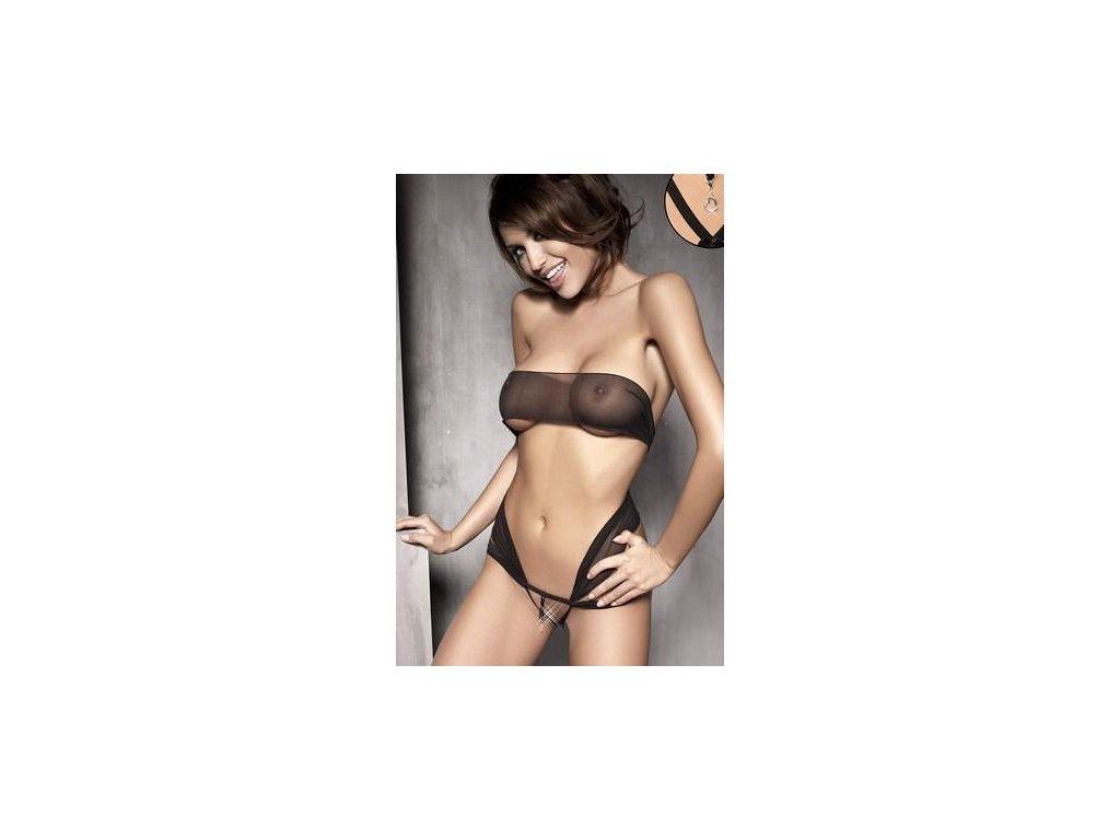 # Body Anais Aura body (Barva Černá, Velikost XL)
