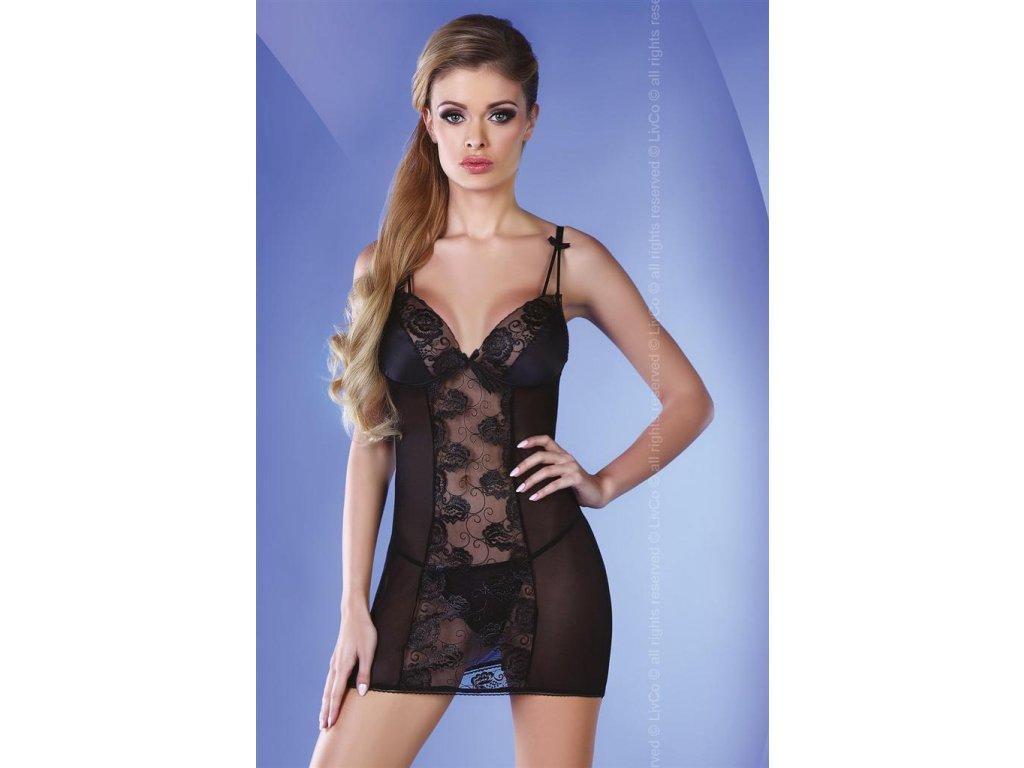 # Košilka Pankhudi - LivCo Corsetti (Barva Černá, Velikost L/XL)