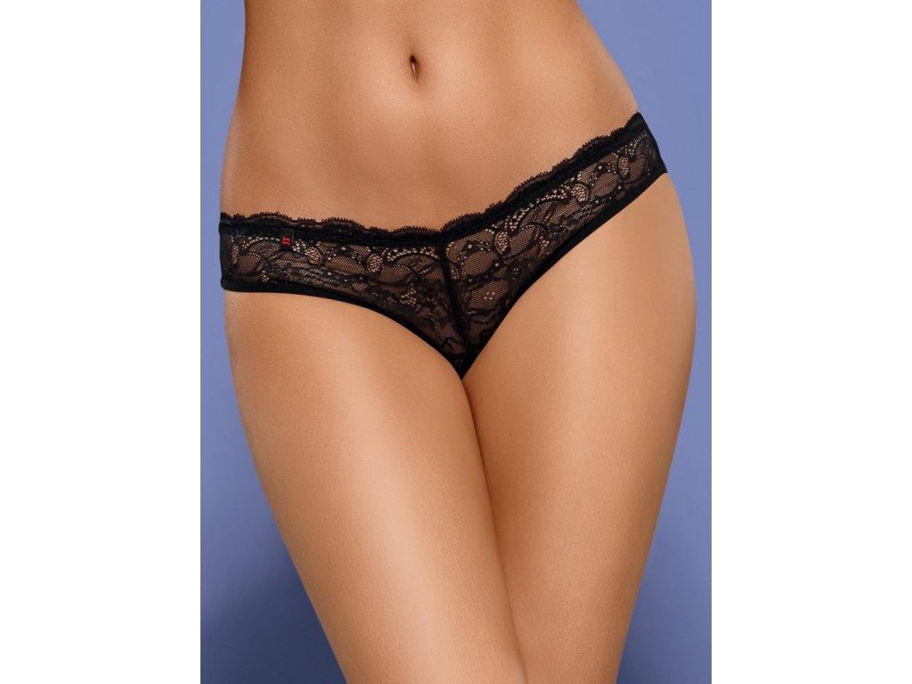# Kalhotky Frivolla panties - Obsessive (Barva Černá, Velikost L/XL)
