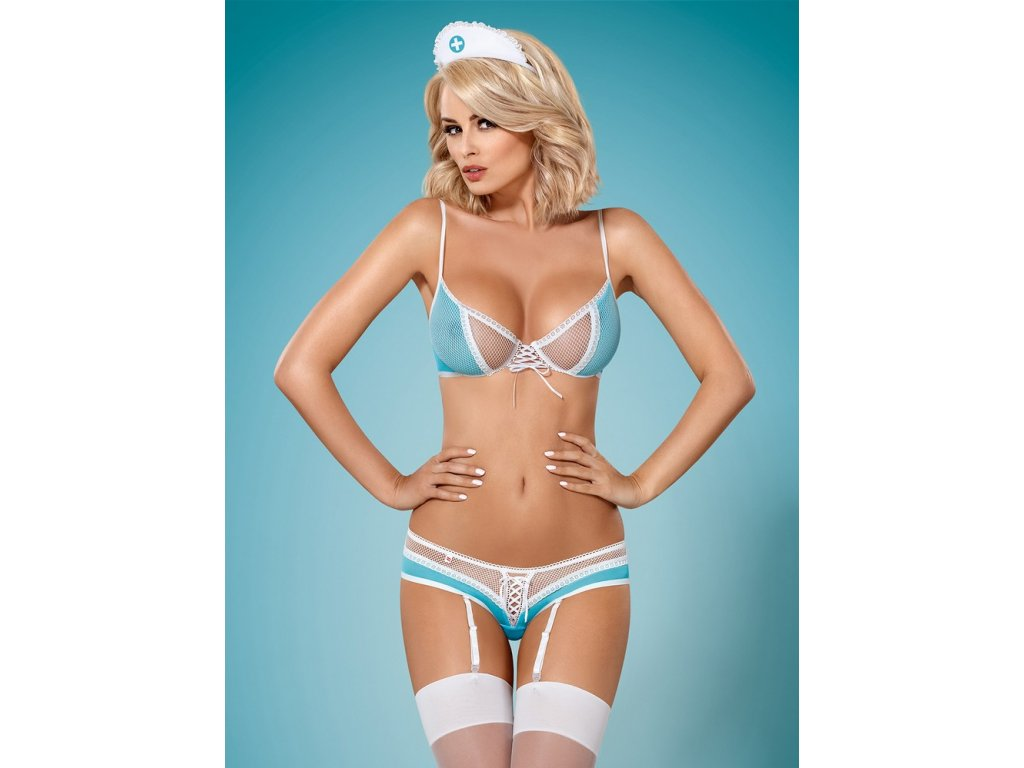 # Sexy kostým 834 - CST - Obsessive (Barva original, Velikost L/XL)