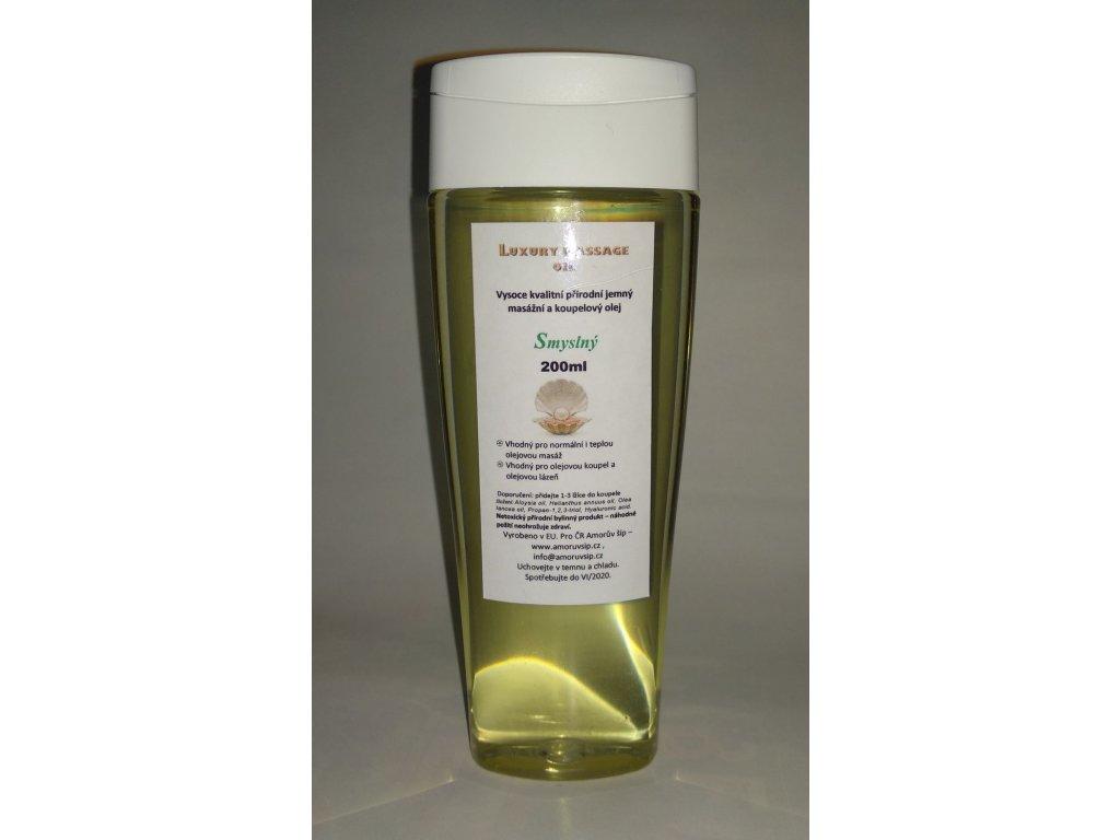 Smyslný olej 200ml