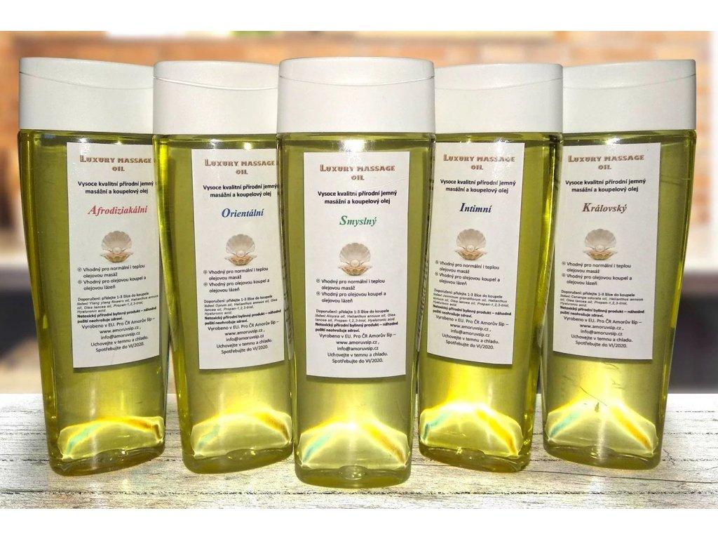 Mix 5 massage oils b