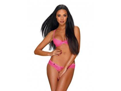 # Sexy set Alabastra set neon pink - Obsessive