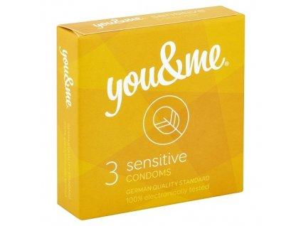 you me sensitive kondomy 3 ks img 8594068390002 T90 fd 3