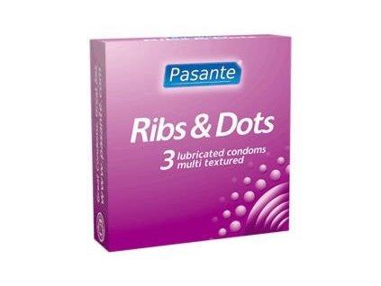 pasante kondomy ribs dots 3 ks img pasanteRibsDots 3ks fd 3