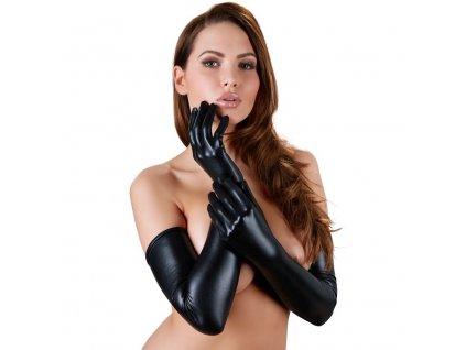 cottelli vysoke rukavice s lesklym efektem img 24601221101 fd 3