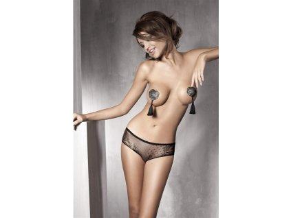 # Kalhotky Anais Iva (Barva Černá, Velikost XL)