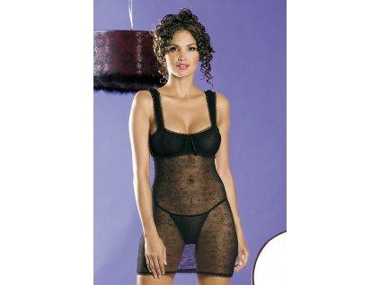 # Košilka Mirell chemise - Obsessive (Barva Černá, Velikost S/M)
