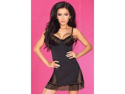 # Košilka Sarena - LivCo Corsetti (Barva Černá, Velikost XL)