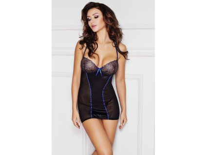 # Košilka Yalika - Anais (Barva Černá, Velikost XL)