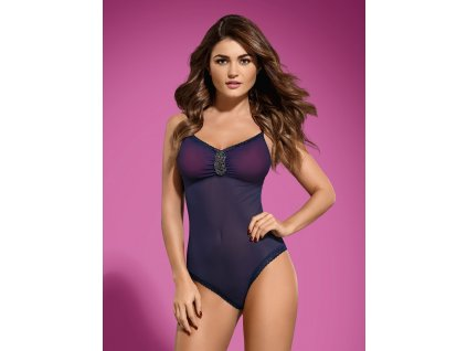 # Body Suella teddy -  Obsessive (Barva Modrá, Velikost L/XL)