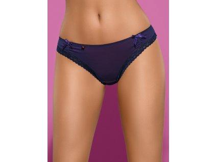 # Tanga Suella thong - Obsessive (Barva Modrá, Velikost L/XL)