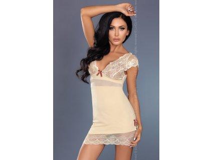 # Košilka Sarah - LivCo Corsetti (Barva béžová, Velikost L/XL)