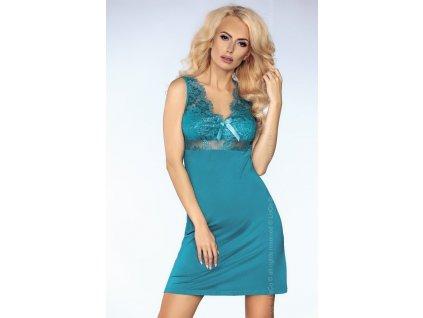 # Košilka Veronica - LivCo Corsetti (Barva tyrkys, Velikost XL)