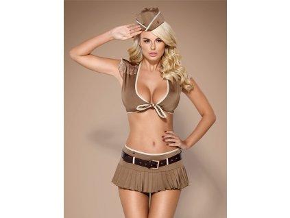 # Sexy kostým 814-CST - Obsessive (Barva hnědá, Velikost L/XL)